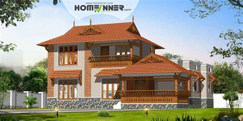 traditional house design traditional sloping roof 3bhk kerala house design indian