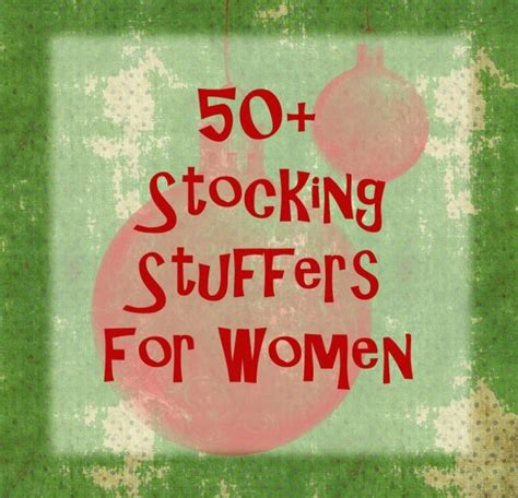 christmas stocking stuffers stocking stuffer ideas for women diy christmas