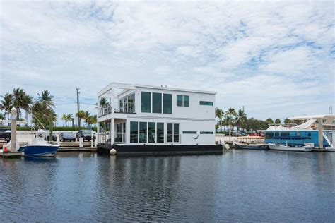 houseboat miami modern houseboat luxuria asks 1 5m curbed miami
