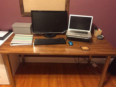 ikea countertop desk reddit fyi ikea countertops great desks macsetups