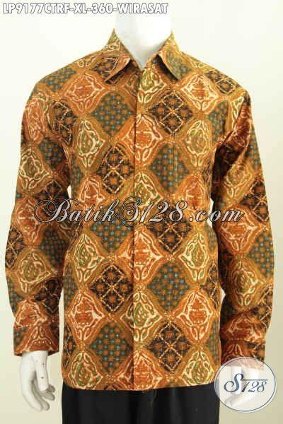 Kemeja Furing Batik Kombinasi Tulis Dan Cap 49 batik hem klasik motif wirasat kemeja batik lengan panjang cap tulis til gagah dan