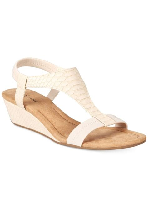 sandals only alfani alfani s vacanzaa wedge t sandals only