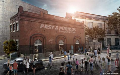 fast and furious universal studios florida all the details for fast furious supercharged at