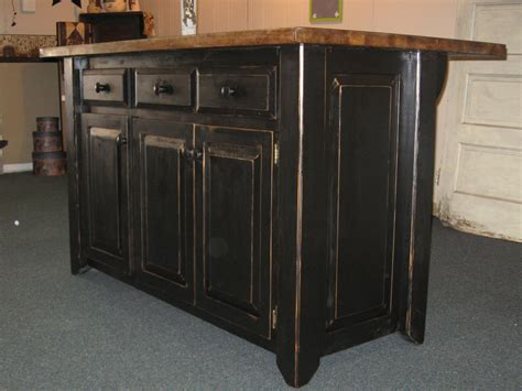 black kitchen island kitchen island primitive