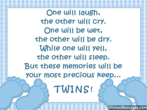 printable twin quotes congratulations for having twins newborn baby card wishes
