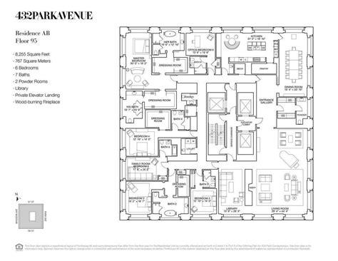 432 park ave floor plans 432 park avenue reveals a 95th floor 82m penthouse