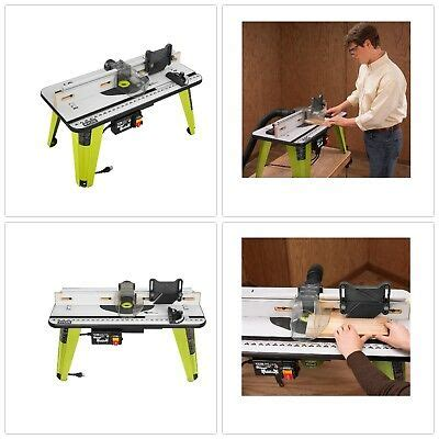 Ryobi 10 Amp Table Saw Sliding Carriage Ets1525sc 4 500rpm