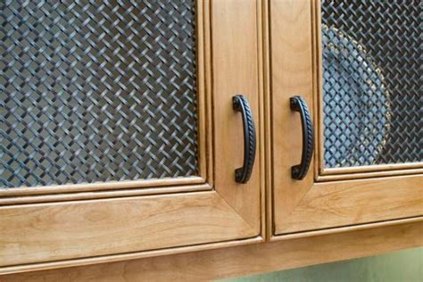Wire Mesh Inserts For Cabinet Doors by Pin By Alyssa Ernst On Kitchen