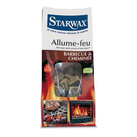 allume cheminee carr 233 s allume feu starwax produits d entretien maison