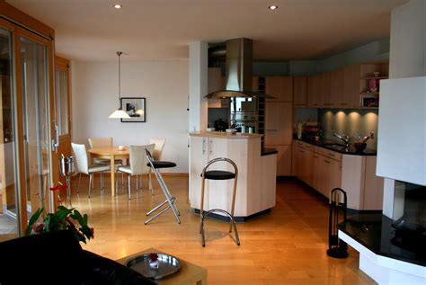 Open Floor Plans With Large Kitchens by Alphaven Apartment A