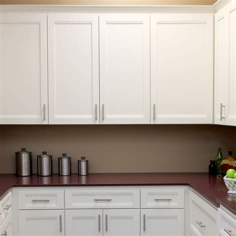 diy white kitchen cabinets designer sturbridge full overlay alder shaker style kitchen care partnerships