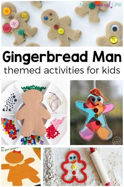 theme changer line for gingerbread favorite gingerbread man activities for kids