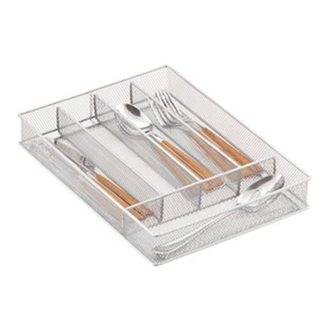 Cutlery Tray Small Drawer by Silver Mesh Cutlery Trays The Container Store