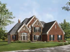 brick homes plans suggestions for brick and stone exterior