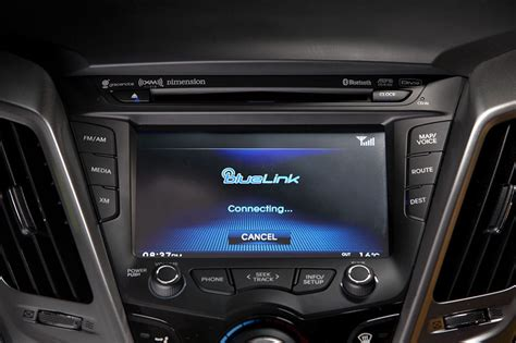 Auto Bildschirm by Ces 2013 Hyundai To Integrate Apple S Siri Into Its Vehicles