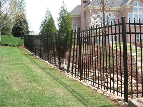 best material for secure metal fencing fenceworks of ga