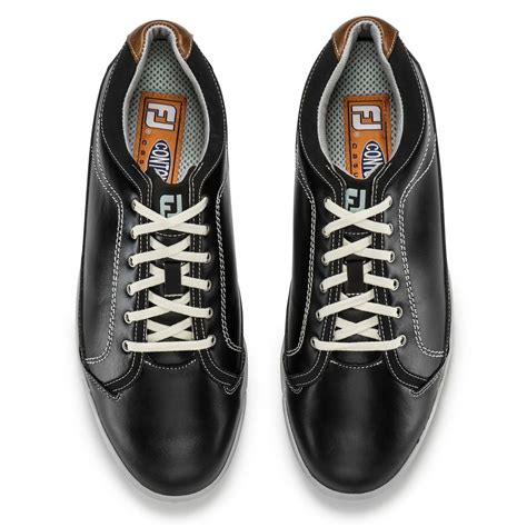 footjoy contour casual golf shoes spikeless mens new