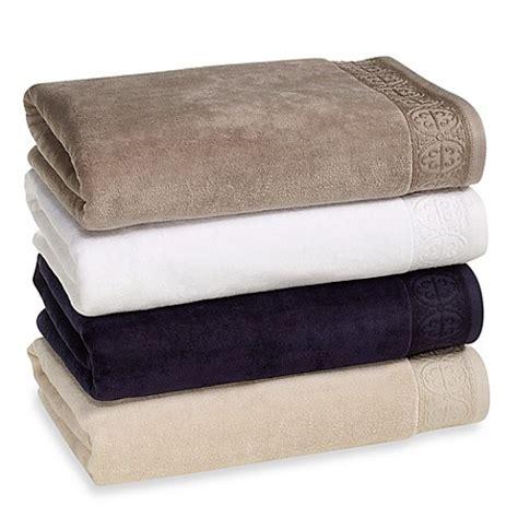 bed bath and beyond bath towels elizabeth arden signature cotton bath towel collection