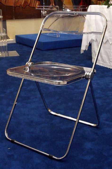 sedia plia arredi in plexiglass sedia modello plia