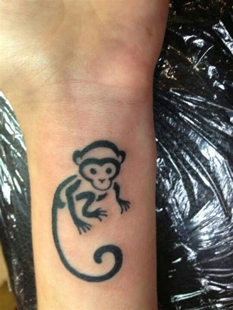 small monkey tattoos 25 best ideas about monkey tattoos on tattoos