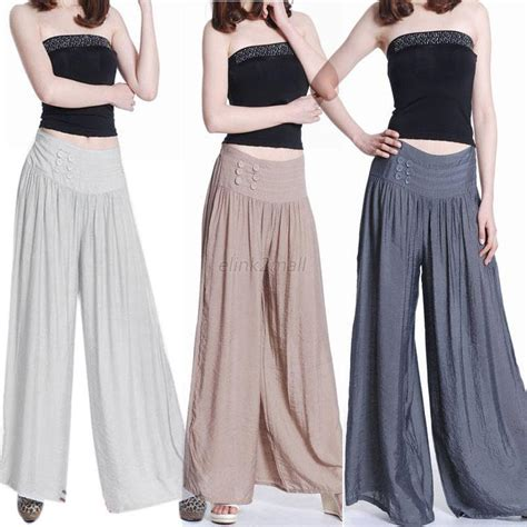 Celana Jogger Baggy Stripe Import new fashion culottes brocade dress