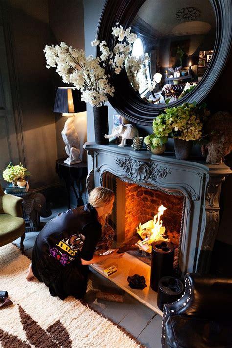 unique fireplaces images  pinterest fire