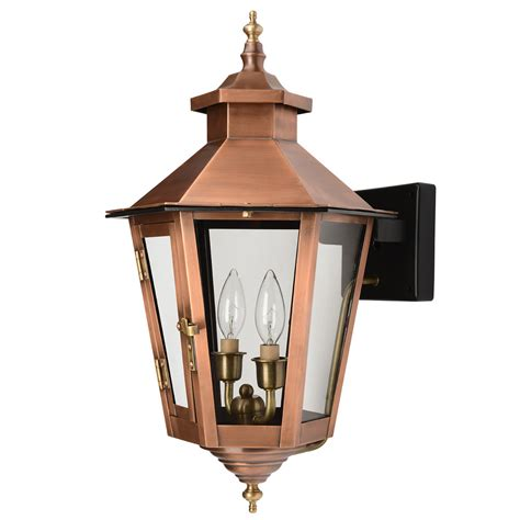 elite light fixtures gulfport collection wall mount outdoor copper patina light fixture 7761cp elite fixtures