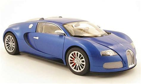 Bugatti Veyron Model Car 1 43 Scale 2005 Blue Ixo Atlas 2891011 Mythiq bugatti veyron 16 4 eb blue centenaire blue matt blue 2009