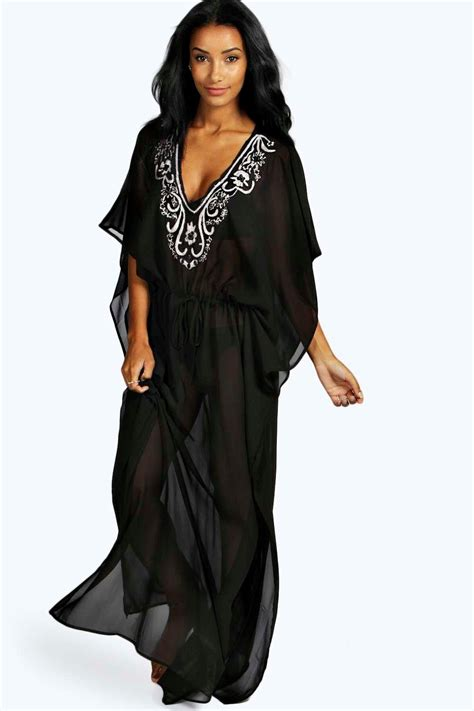 Kaftan Maxi Dress Aisyah Khloe Embellished Maxi Kaftan Dress