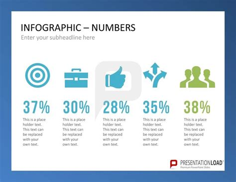 This Set Of Infographic Powerpoint Templates Includes A How To Present Numbers In Powerpoint