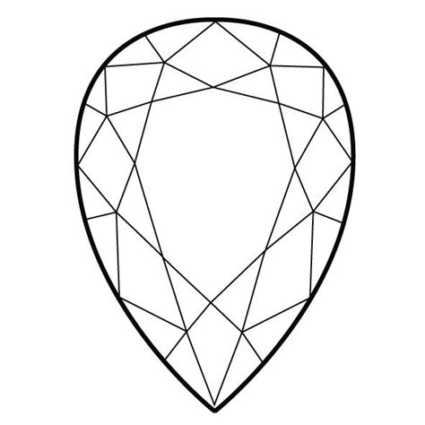 Gem Outline by 16 Best Images About Gem Shapes Cuts On Gem Cuts And Shapes