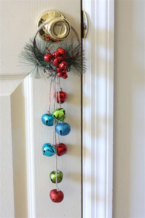 christmas bells door decoration 101 days of jingle bell door hanger your way