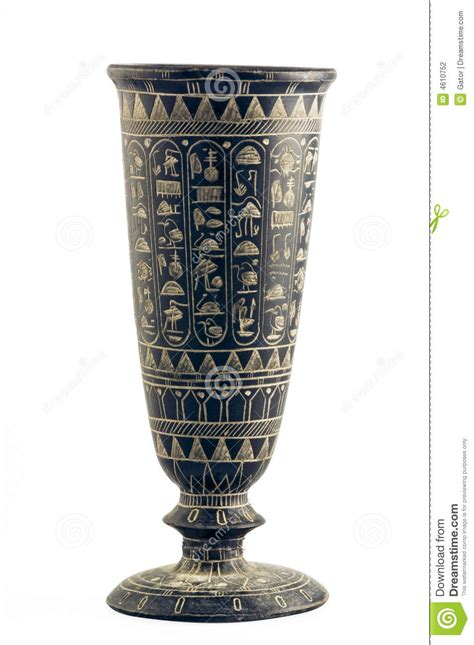 How To Read Vases by Vase Engaved With Hieroglyphs Stock Photography