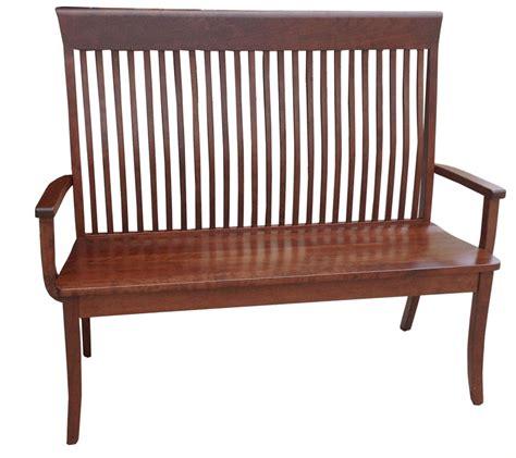 old world bench old world shaker bench ohio hardwood furniture