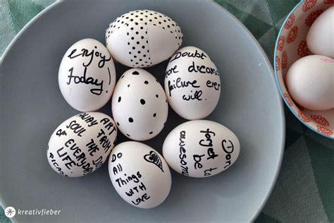 Beschriftung Ei by Ostereier Beschreiben Ostereier Einfach Mal Anders