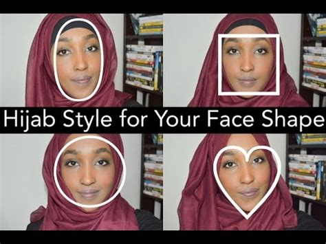 weavon style for heart face hijab for your face shape hanna mk youtube