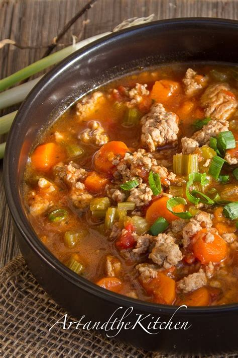 healthy turkey soup recipe 17 best ideas about ground turkey soup on soup
