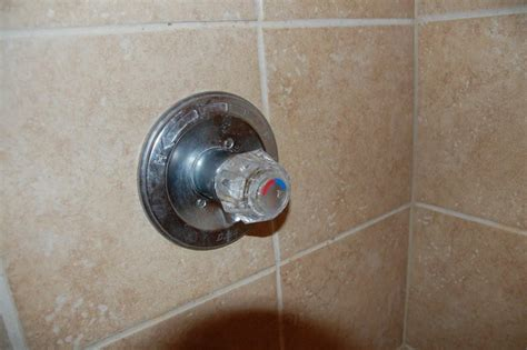 i a delta shower valve after removing the knob sleeve