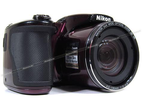 Kamera Nikon L830 die kamera testbericht zur nikon coolpix l830