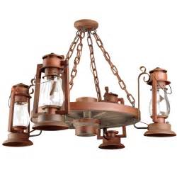 Lantern Style Chandelier Rustic Chandeliers American Made To Order Family Owned