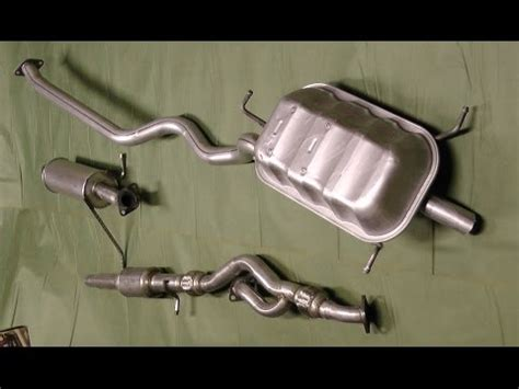 Exhaust System Hyundai Santa Fe Replaced Exhaust System On 2002 Hyundai Santa Fe