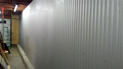 Best Covering Interior Paint by Corrugated Metal Garage Walls Ideas Wanted