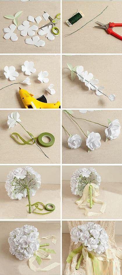 Origami Baket Bunga kreasi buket bunga kertas flower paper bouquet inspiring