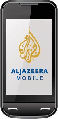 aljazeera net mobile al jazeera mobile services news al jazeera