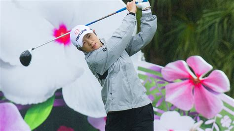 swinging h ji holds opening round lead of swinging skirts lpga taiwan