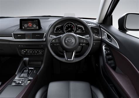Mazda 3 Interior by 2017 Mazda3 Officially Revealed Arrives August 1