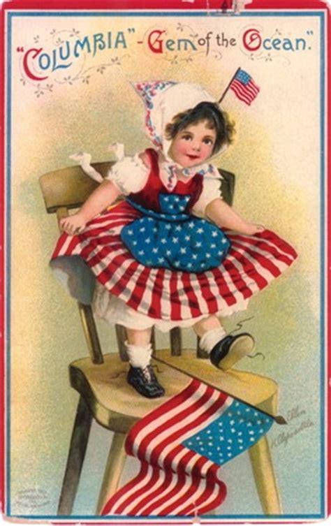 free printable patriotic postcards free clip art from vintage holiday crafts 187 patriotic