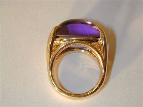 swing rings cabochon amethyst swing ring for sale at 1stdibs