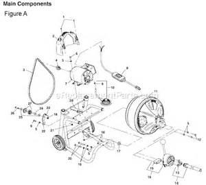ridgid k 400 parts list and diagram ereplacementparts