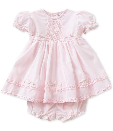 Dress White Babyborn friedknit creations baby newborn 9 months ruffle dress dillards